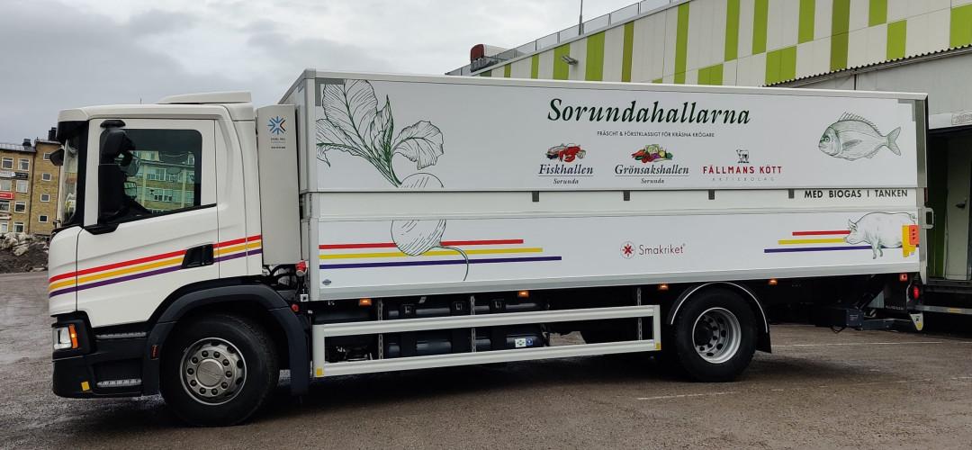 Fler gasbilar till Sorundahallarnas stockholmsflotta